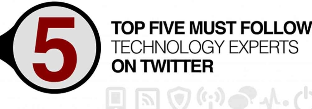 5 Great Tech Minds to Follow on Twitter