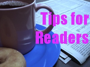 tips for readers